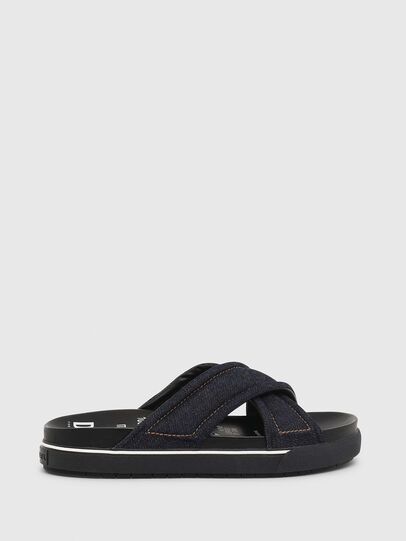 Diesel - SA-GRAND X, Blue Jeans - Sandals - Image 1