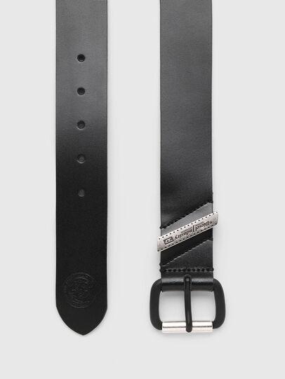 Diesel - B-FLAG, Black - Belts - Image 3