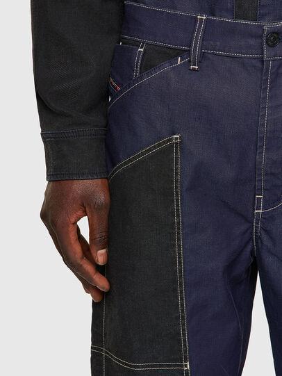 Diesel - D-Franky JoggJeans® 0EEAW, Dark Blue - Jeans - Image 4