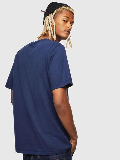 Diesel - CC-T-JUST-COLA, Dark Blue - T-Shirts - Image 3