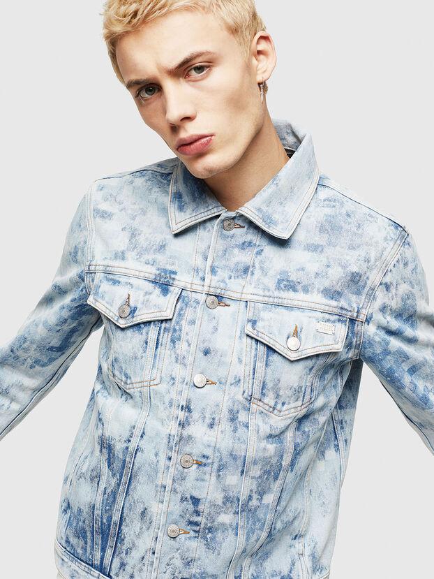 NHILL, Light Blue - Denim Jackets