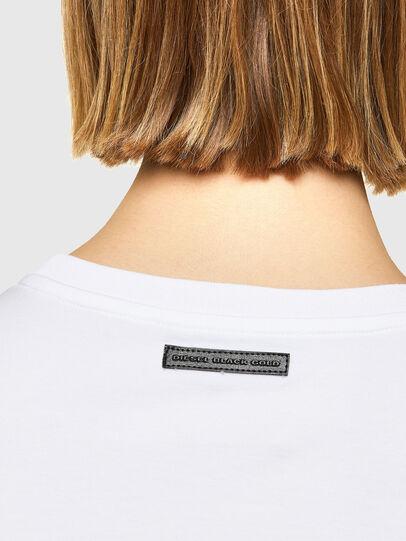 Diesel - T-LYS, White - T-Shirts - Image 4
