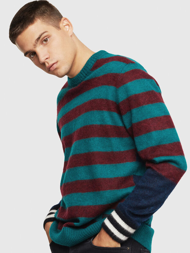 K-BOH, Blue/Red - Knitwear