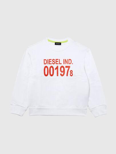 Diesel - SGIRKJ3 OVER, White - Sweaters - Image 1