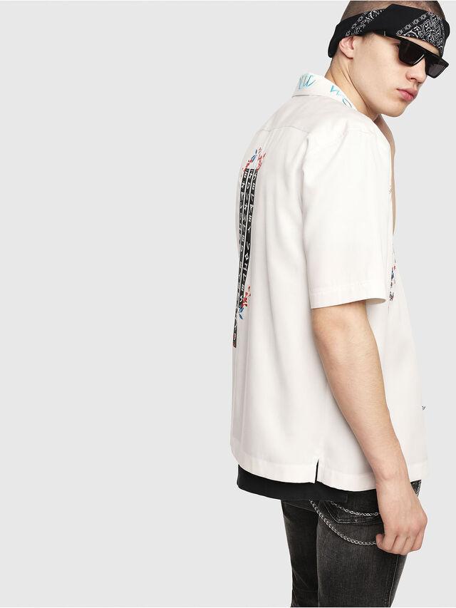 Diesel - S-KENTA-A, White - Shirts - Image 3