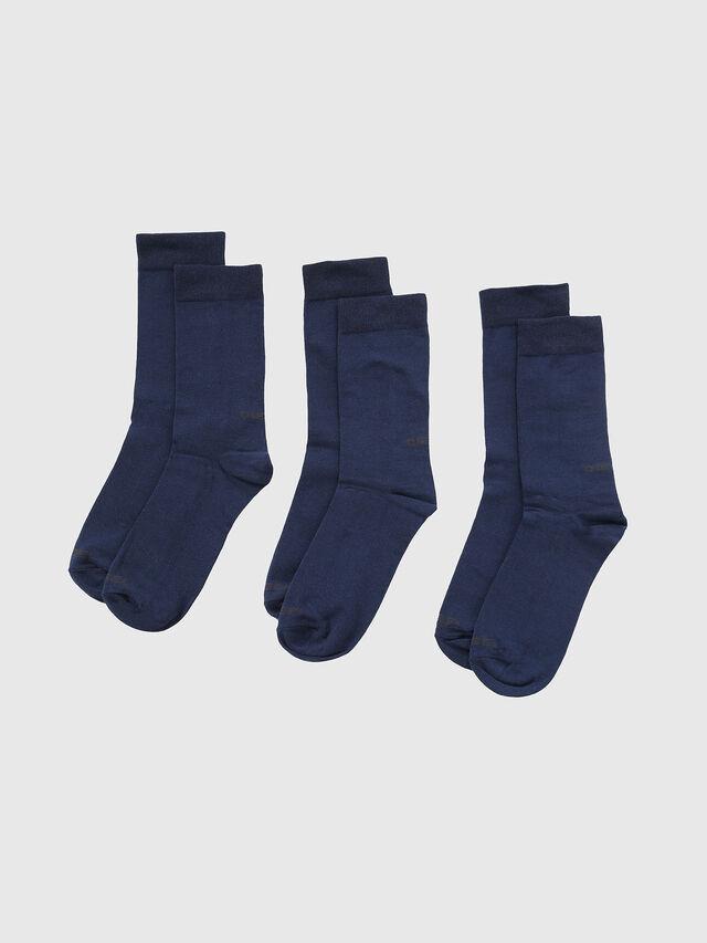 Diesel SKM-RAY-THREEPACK, Blue - Socks - Image 1