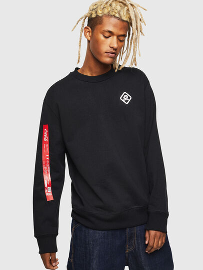 Diesel - CC-S-BAY-COLA, Black - Sweaters - Image 1