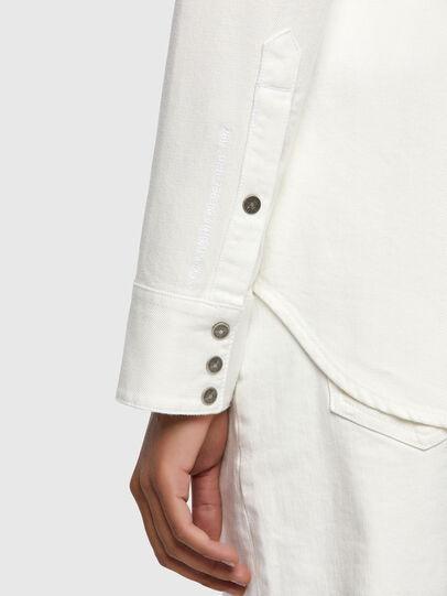 Diesel - DE-RINGY, White - Denim Shirts - Image 3