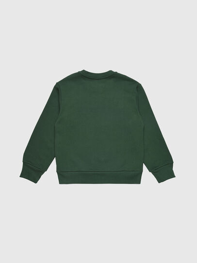 Diesel - SCREWDIVISION OVER, Bottle Green - Sweaters - Image 2