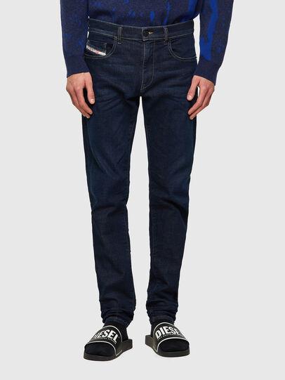 Diesel - D-Strukt JoggJeans® Z69VI, Dark Blue - Jeans - Image 1