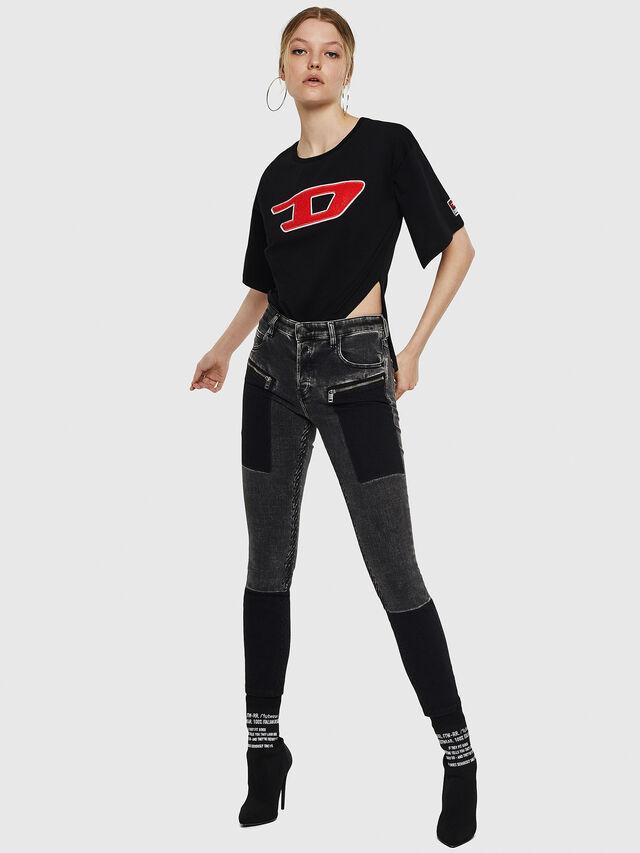 Diesel - T-JACKY-I, Black - T-Shirts - Image 6
