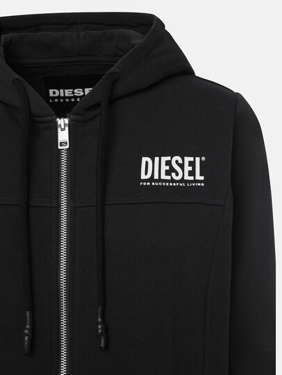 Diesel - UFLT-VICTORIAL-HZ, Black - Sweaters - Image 3