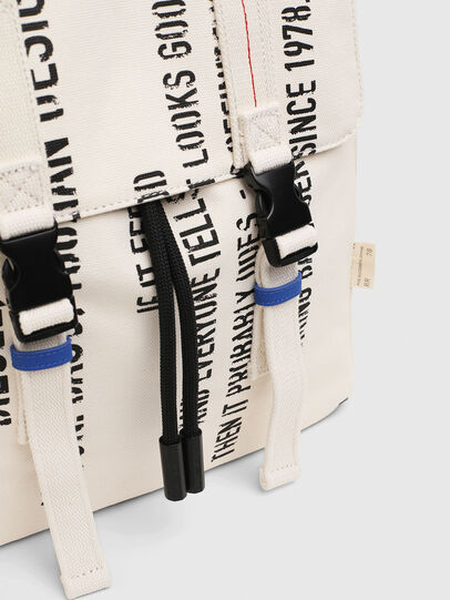 Diesel - VOLPAGO BACK, White - Backpacks - Image 5