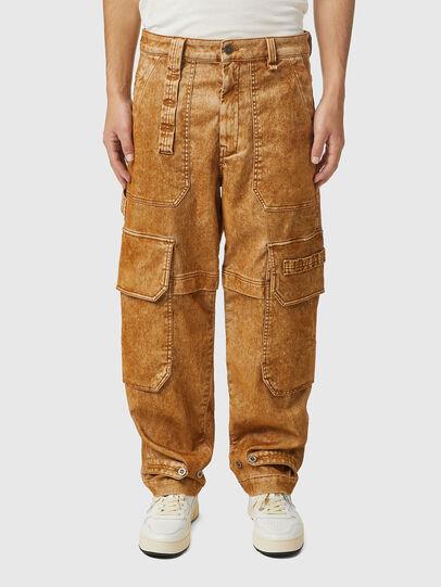 Diesel - D-Multy JoggJeans® 0AFAT, Light Brown - Jeans - Image 1