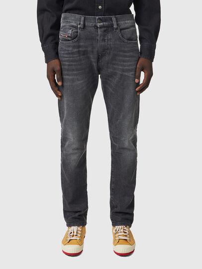 Diesel - D-Viker 09B42, Black/Dark grey - Jeans - Image 1