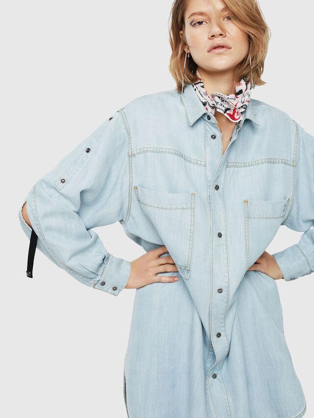 Diesel - DE-SUP, Blue Jeans - Dresses - Image 1