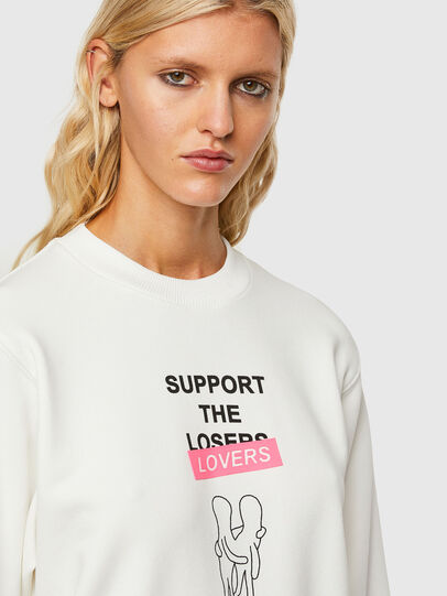 Diesel - F-ANG-R10, White - Sweaters - Image 4