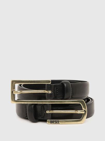 Diesel - B-EXXE, Black - Belts - Image 1