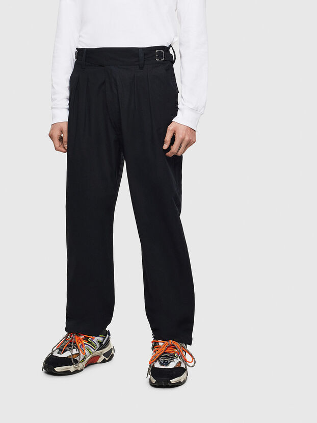 P-COOLE, Black - Pants