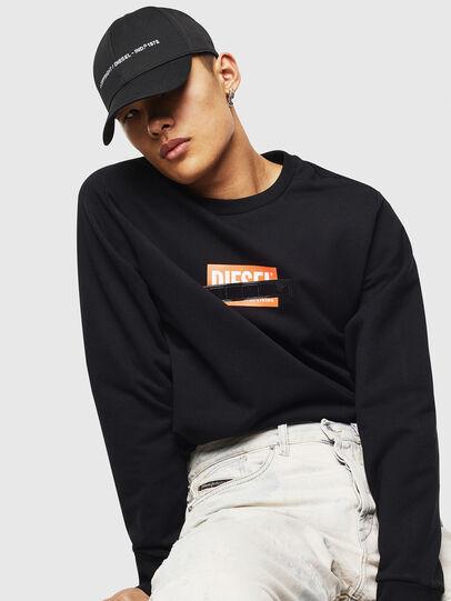 Diesel - S-GIRK-S4, Black - Sweaters - Image 5