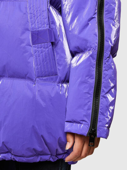 Diesel - W-DERK, Violet - Winter Jackets - Image 4