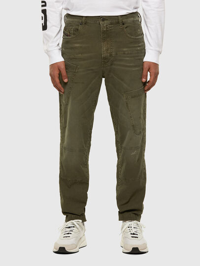 Diesel - D-Azzer JoggJeans® 069NF, Military Green - Jeans - Image 1