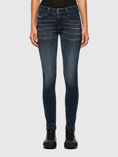 Diesel - Slandy 009JH, Dark Blue - Jeans - Image 1