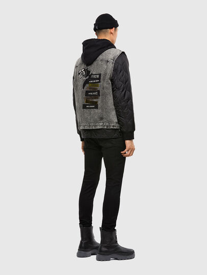 Diesel - D-DESTROY-SP, Grey/Black - Winter Jackets - Image 6