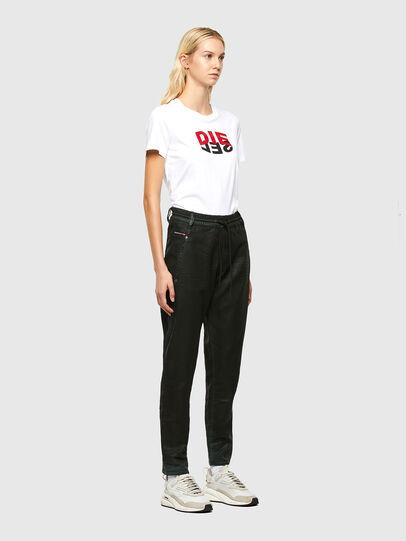 Diesel - KRAILEY JoggJeans® 069QP, Black/Green - Jeans - Image 6