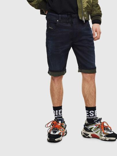 Diesel - D-KROOSHORT JOGGJEANS,  - Shorts - Image 6