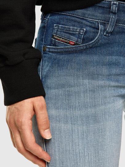 Diesel - Slandy Low 009CV, Light Blue - Jeans - Image 3