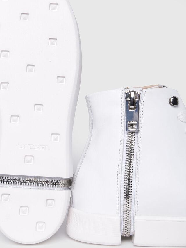 Diesel - S-NENTISH MC W, White - Sneakers - Image 4