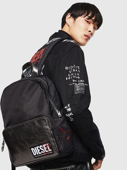 Diesel - MIRANO CNY, Black - Backpacks - Image 8