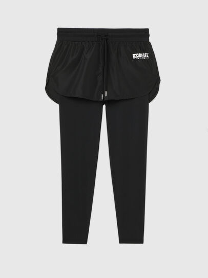 Diesel - UFLB-FAUSTIN-LP-MJ, Black - Pants - Image 1