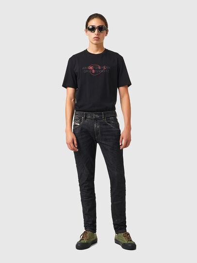 Diesel - D-Strukt 09A87, Black/Dark grey - Jeans - Image 5