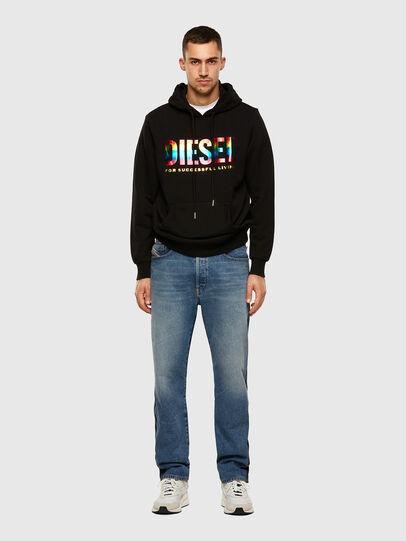 Diesel - S-GIR-HOOD-P, Black - Sweaters - Image 4