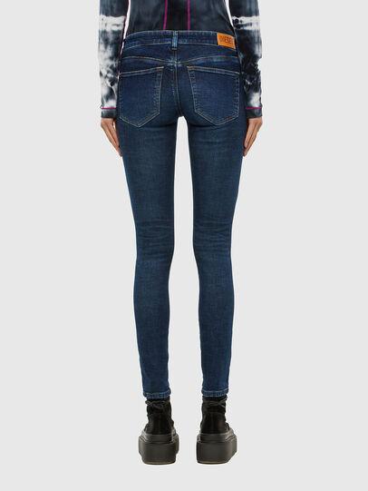 Diesel - Slandy Low 069PX, Dark Blue - Jeans - Image 2