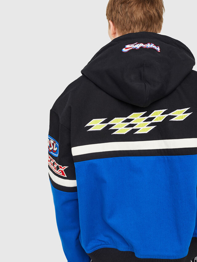 Diesel - J-RAIDEN, Blue/Black - Jackets - Image 2