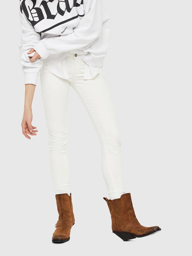 Diesel - Gracey JoggJeans 088AZ, White - Jeans - Image 4
