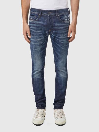 Diesel - Sleenker 09A85, Dark Blue - Jeans - Image 1