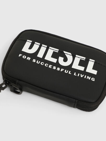 Diesel - LARIO, Black - Zip-Round Wallets - Image 4