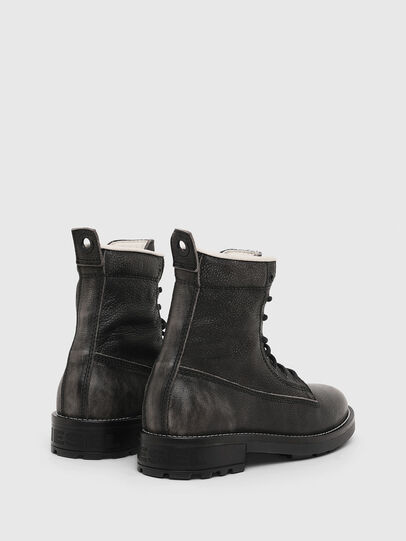 Diesel - D-THROUPER DBB W, Dark grey - Ankle Boots - Image 3