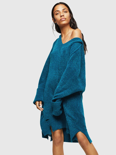 Diesel - M-NOELIA, Blue Marine - Knitwear - Image 6