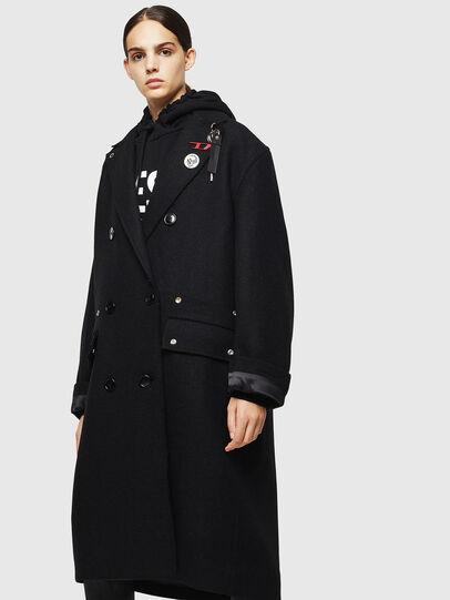 Diesel - W-MALIN, Black - Winter Jackets - Image 4