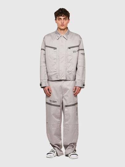 Diesel - J-THOMPSON-A, Light Grey - Jackets - Image 6