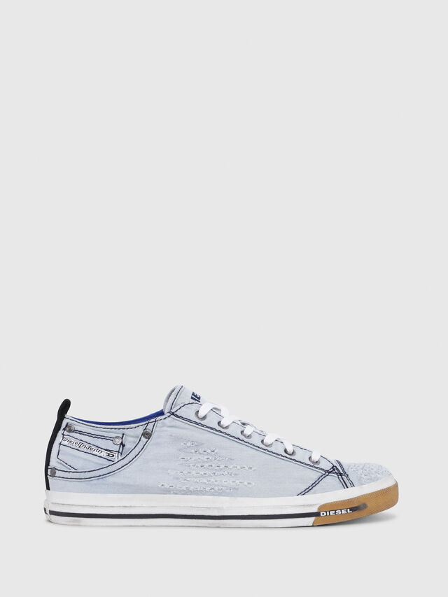 Diesel - EXPOSURE LOW I, Light Blue - Sneakers - Image 1