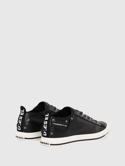 Diesel - EXPOSURE LOW I, Black - Sneakers - Image 3