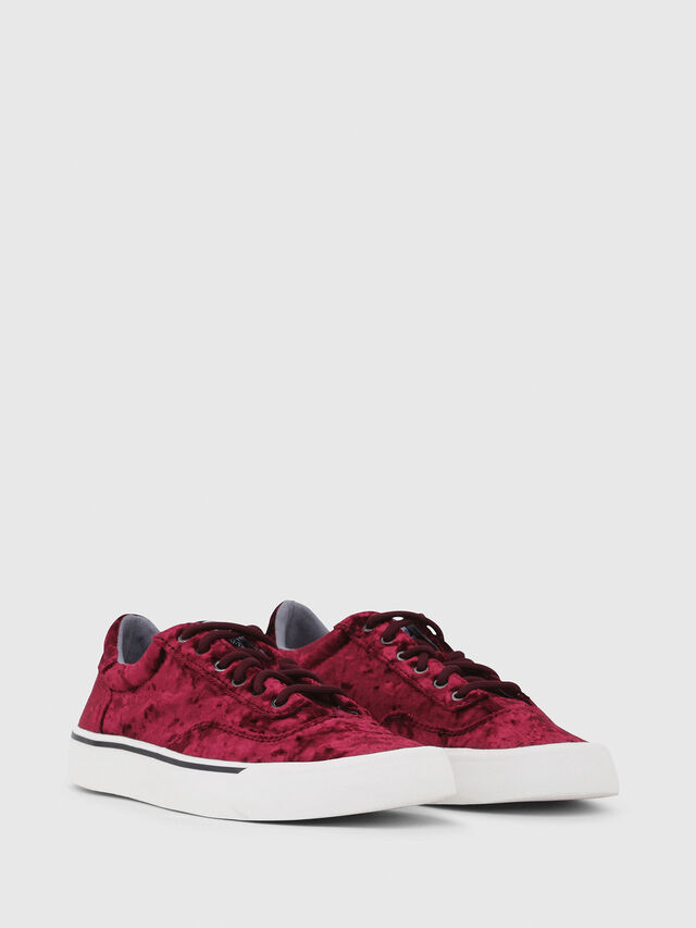 Diesel - S-FLIP LOW W, Bordeaux - Sneakers - Image 2