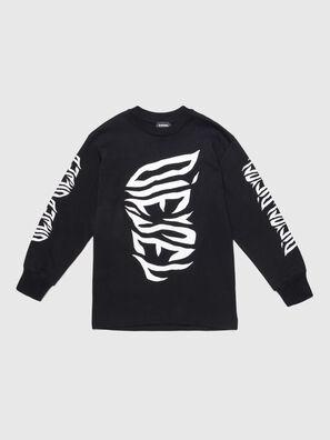 TJUSTLSJ2 OVER, Black - T-shirts and Tops