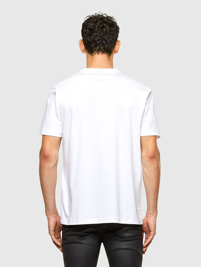 Diesel - T-JUST-A31, White - T-Shirts - Image 2